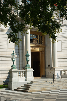 Courthouse Doorway